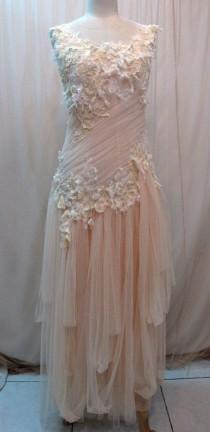 wedding photo - Custom Made Pretty Chiffon Babydoll Dress