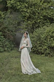 wedding photo - BHLDN Lia Gown By Catherine Deane Size 1 Wedding Dress