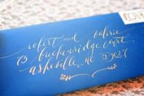 wedding photo - Calligraphy--Sophie