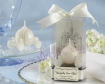 wedding photo - Happily Ever After Carriage Candle Bridal Showers LZ013/B