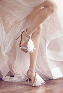 wedding photo - 10 Jimmy Choo Shoes To Get Married In