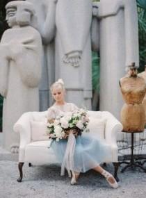wedding photo - Prima Ballerina Wedding Inspiration
