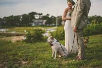 wedding photo - Nautical Bohemian Cape Cod Wedding