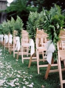 wedding photo - Elegant English Manor Outdoor Wedding - Once Wed