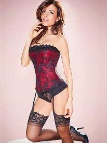 wedding photo - Hollywood Dream Lace Strapless Corset