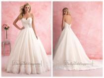 wedding photo - Gorgeous Strapless Sweetheart A-line Wedding Dress