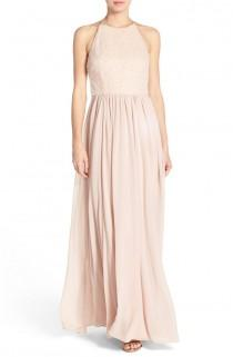 wedding photo - Vera Wang Sequin Chiffon Fit & Flare Gown