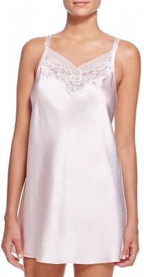 wedding photo - Oscar de la Renta Pink Label Solid Charmeuse Chemise