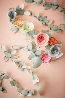 wedding photo - Flowerage Garland
