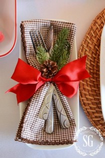 wedding photo - WOODLAND CHRISTMAS TABLESCAPE AND $250.00 GIVEAWAY