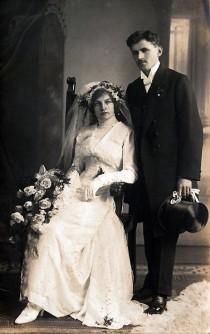 wedding photo - Victorian~Edwardian Wedding...Days Gone By...