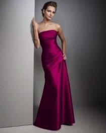 wedding photo - Fuschia Wedding Dresses 20126
