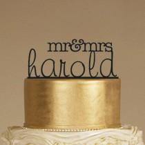 wedding photo - 20 Gorgeous Laser Cut Cake Toppers