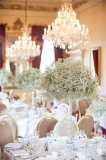 wedding photo - Dinner In The Main Dining Room, Moor Park Golf Club - Inspiration Gallery Wedding Venue Image