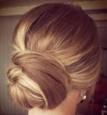 wedding photo - 20 Low Updo Hair Styles For Brides