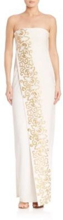 wedding photo - Tory Burch Juliette Embroidered Gown