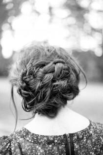 wedding photo - Irrelephant: Braided Knot/bun