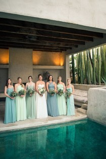 wedding photo - Modern Venice Wedding