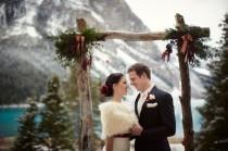 wedding photo - Mountain Romance