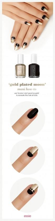 wedding photo - Gold Plated Moon By Essie