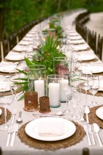 wedding photo - The Secret To Creating An Unforgettable Wedding Tablescape