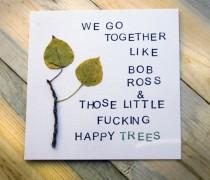 wedding photo - Bob Ross quotes to add some happy little zen to your ceremony