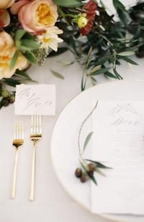wedding photo - Gold Ethereal Wedding Inspiration