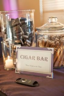 wedding photo - Creative Wedding Dessert Displays