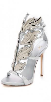 wedding photo - Giuseppe Zanotti Metal Wing Sandals