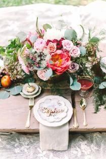 wedding photo - Garden Picnic For Flower Girls