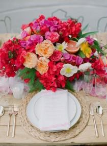 wedding photo - How To Create Beautiful Table Settings