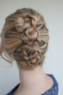 wedding photo - Braided Updo