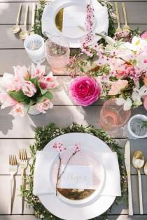 wedding photo - Easter Brunch Table Inspiration