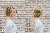 wedding photo - Aesthetica Floral Hair Vine