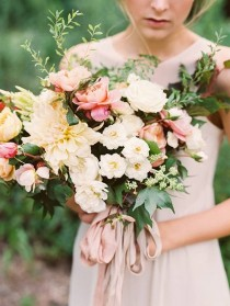 wedding photo - Bouquets for the Bridesmaids