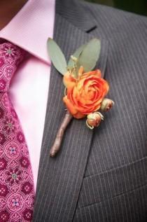 wedding photo - Serendipity Flowers for groom