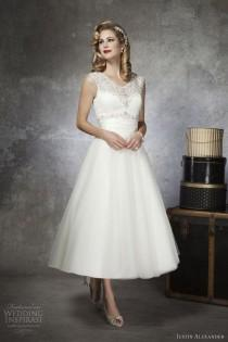 wedding photo - Tea Length Gown