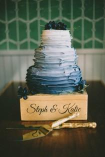 wedding photo - Creatively Designed Wedding Cake