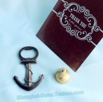 wedding photo -  Beach Party Nautical Bottle Opener Wedding Gift ; Wedding Party Favors BETER-HH030
