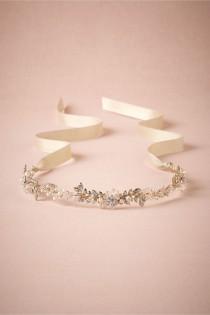 wedding photo - Pearl-Petal Halo for Bride