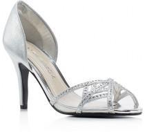 wedding photo - Caparros Cecilia Metallic d'Orsay High Heel Pumps