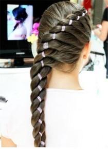 wedding photo - Amazing hairstyle