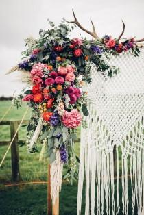 wedding photo - Macrame Knotted Wedding Decor Ideas