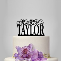 wedding photo - personalize wedding cake topper,funny Wedding Cake Topper, Elegant Wedding Cake Topper, unique wedding cake toppers custom date