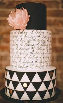 wedding photo - 5 Hot Wedding Cake Trends That'll Wow Your Guests