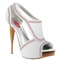 wedding photo - Women's Baseball High Heel