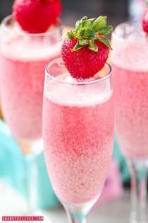 wedding photo - Strawberry Cream Mimosa