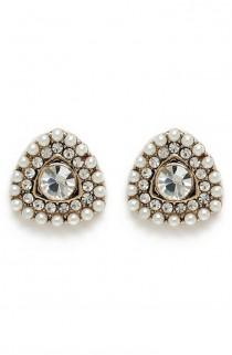 wedding photo - 'Diamond Eye' Earrings