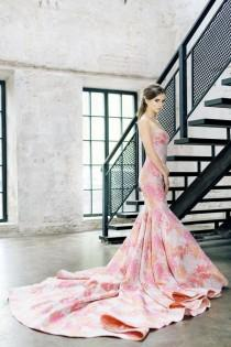 wedding photo - Fuscia Print Stylish Dress