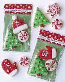 wedding photo - Christmas Cookies And Cute Wrapping